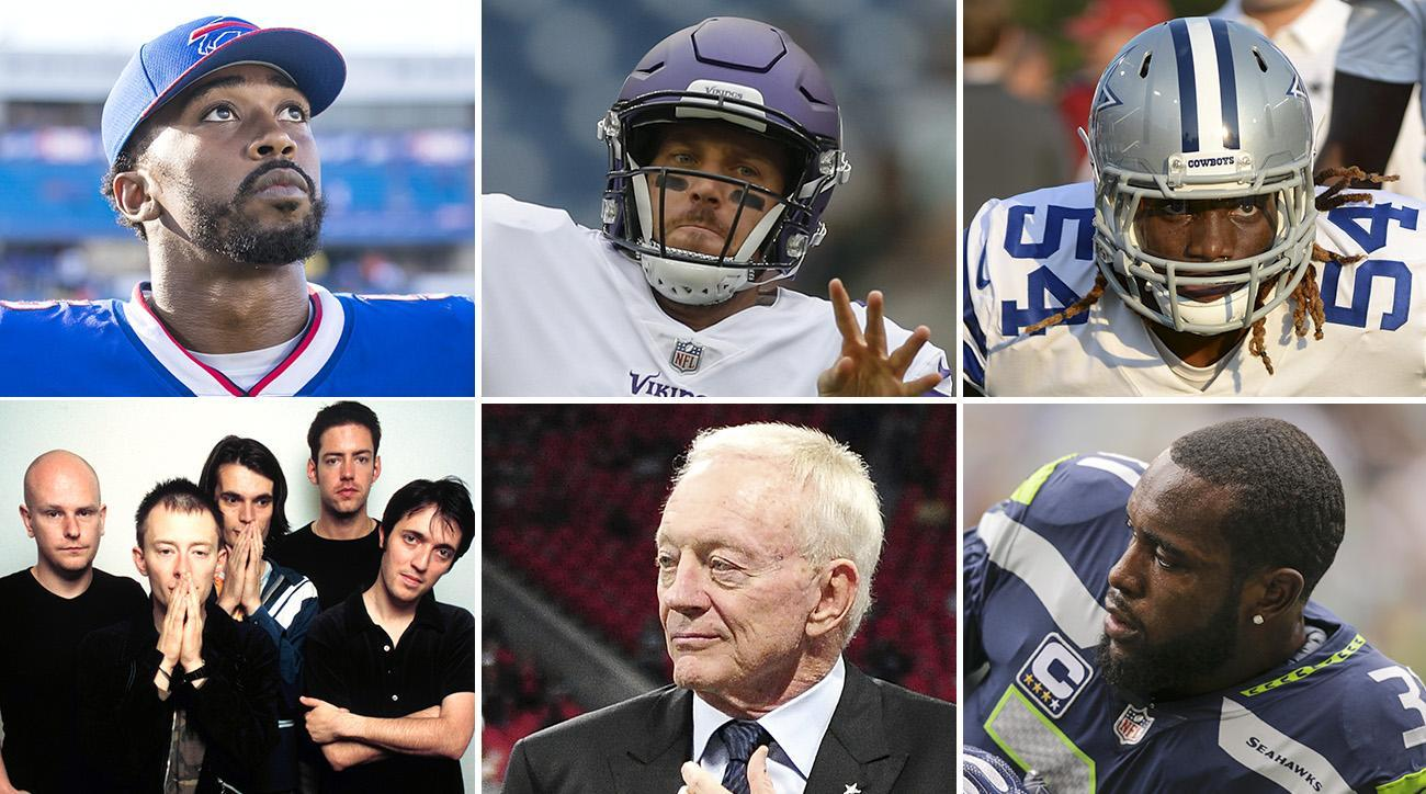 What the Bills Are as the Tyrod Taylor Era Ends, Case Keenum and Playing with House Money, Jerry Jones Shoulda Listened to More Radiohead