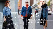 牛仔控請 Bookmark:35 個牛仔外套完美造型,為你帶來源源不絕的穿搭靈感!