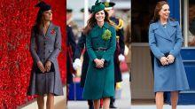 皇室時尚代言人:王妃 Kate Middleton 百變大衣造型!