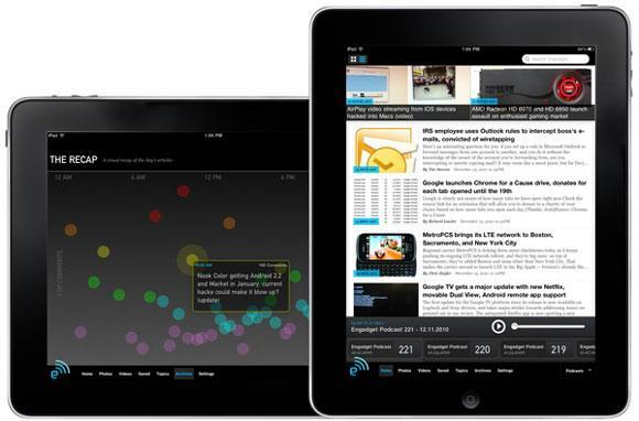 Engadget iPad app now available