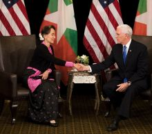 Pence takes Suu Kyi to task over Myanmar treatment of Rohingya