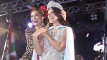 Paolla Oliveira é coroada rainha de bateria da Grande Rio