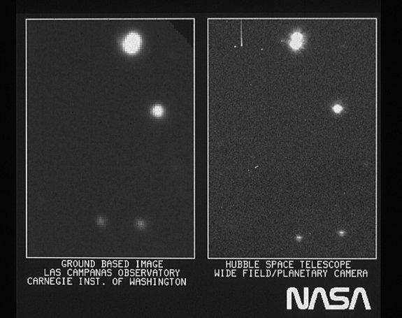 Hubble Telescope Opened Its Space Eyes 25 Years Ago Today (Photo)