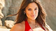 Ashley Graham looks seriously sexy in a tiny red bikini - and it's on sale for $58