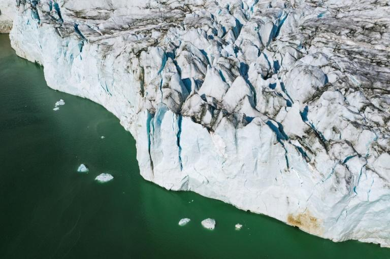 Oceans Melting Greenland is investigating how warmer layers of water off the coast come into contact with glaciers and how this effects how quickly they melt (AFP Photo/Jonathan NACKSTRAND)