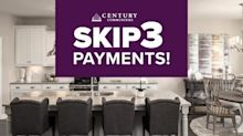 Century Communities Announces Skip 3 Payments Offer for New Homebuyers