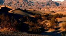Temperatures in Death Valley rose to 54.4 degrees C on Sunday, hottest recorded air temperature on Earth