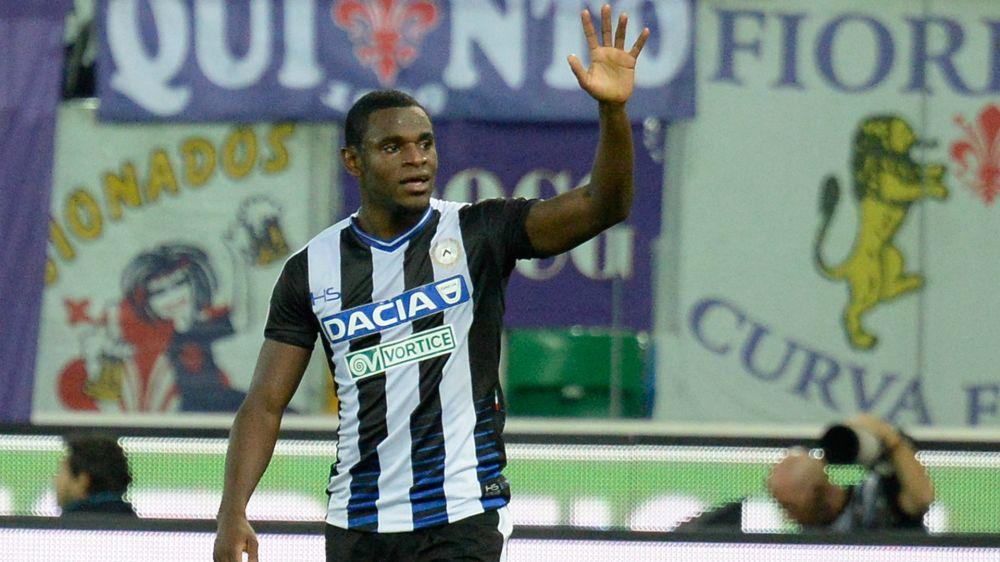 Udinese quiere mantener a Duván Zapata