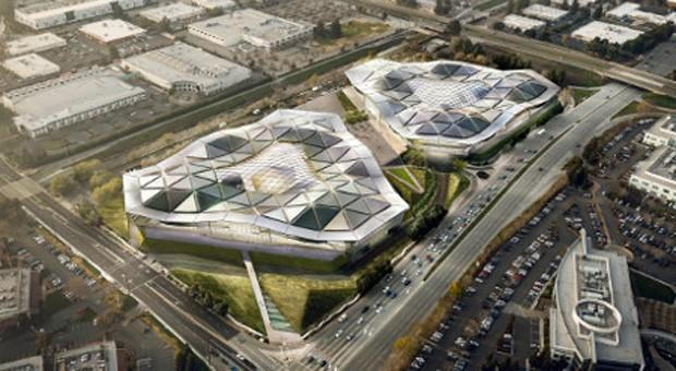 NVIDIA plans construction of a new, very polygonal HQ