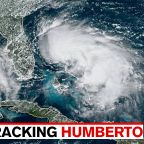 Tropical Depression strengthens to Tropical Storm Humberto