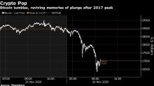 Crypto Boom Shaken as Bitcoin Plunges Along With Other Coins