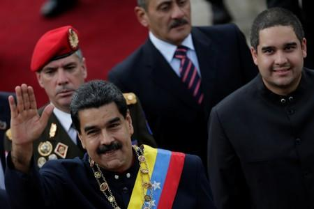 US puts sanctions on Venezuelan President Maduro's son