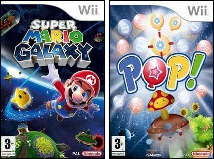 Boxart Battle: Super Mario Galaxy vs. Pop!
