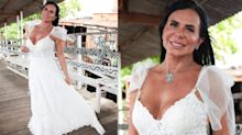 "Gretchen exigiu ""vestido de princesa"" para se casar; peça custa R$ 30 mil"