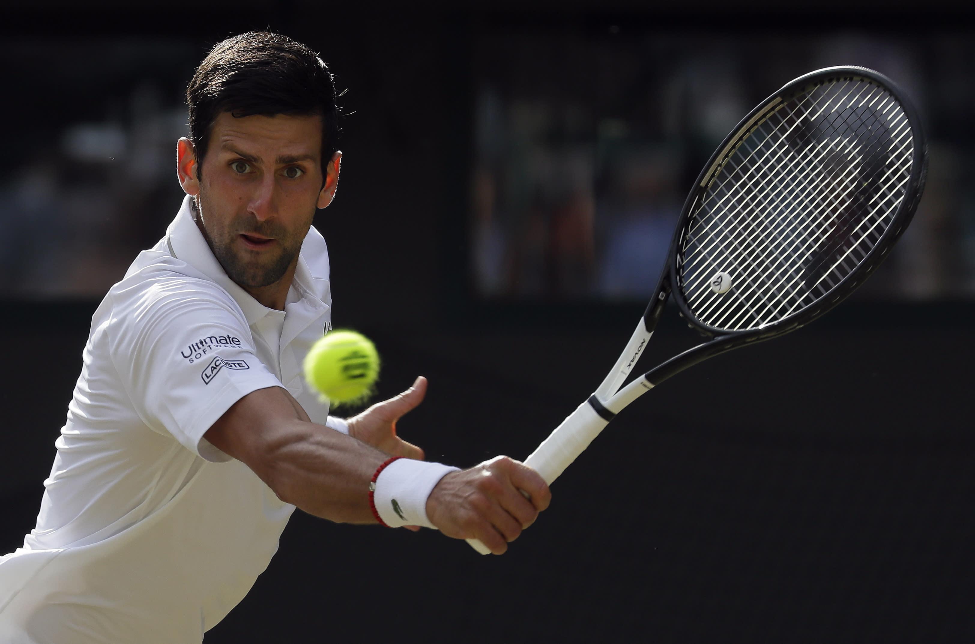 Federer, Nadal, Djokovic star on 'Manic Monday'