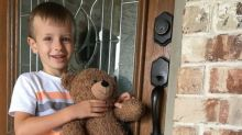 Teddy bear lost at Dallas airport reunited with little boy after family's plea