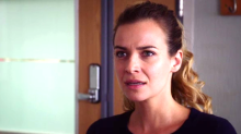 Holby City airs Zosia March's final scenes