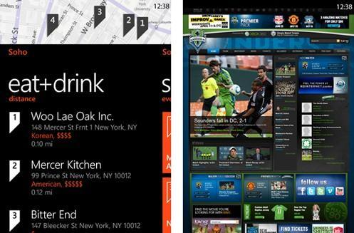 Windows Phone 'Mango' search offers location-specific results, app integration (video)