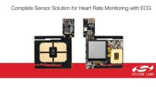 Silicon Labs Biosensors Add ECG Measurement for Advanced Heart Rate Monitoring in Wearables