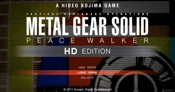 Watch Solid Snake peace walk through a village in HD