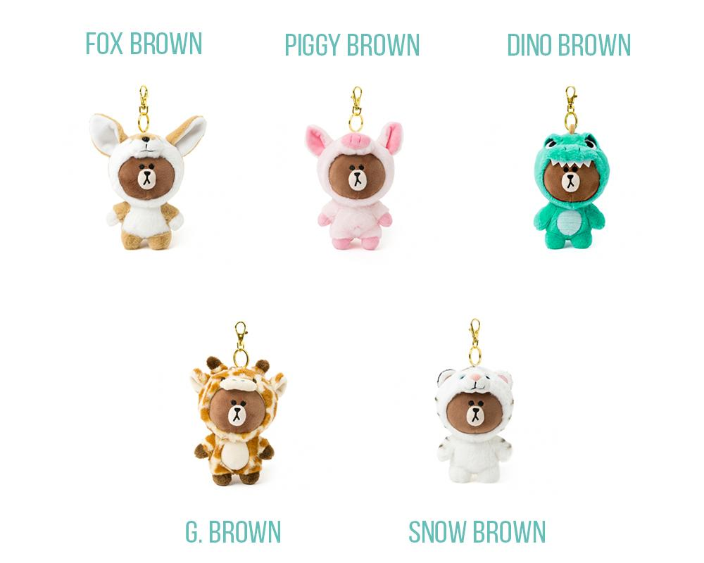 In The Jungle The Mighty Jungle Line Friends Jungle Brown