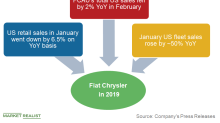 Fiat Chrysler's US Sales Fell after 11 Months of Gains