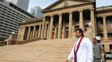 Sri Lanka police clash with protesters outside parliament