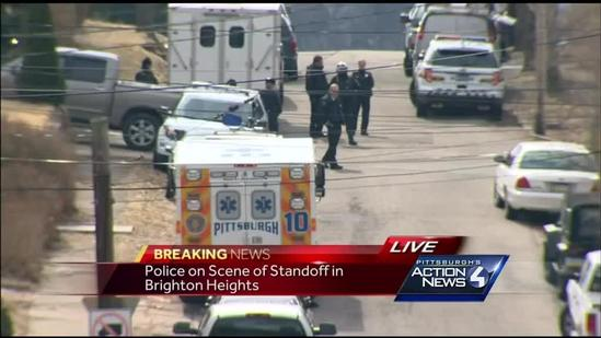 Police called to home in Brighton Heights