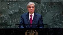 Merkel empfängt kasachischen Präsidenten im Kanzleramt