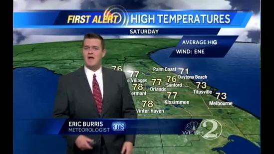Saturday Outlook: Sunny, Warm and Beautiful