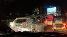 Tata 45X premium hatchback spied testing again