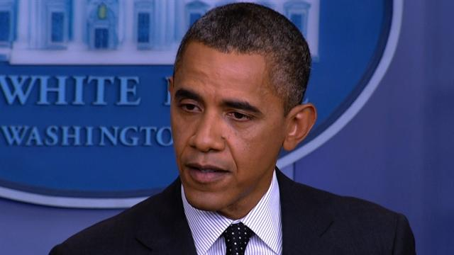 Obama on Syria: Chemical weapons use would cross line