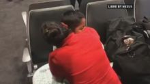 Tearful reunion of migrant mom and son separated at U.S. border