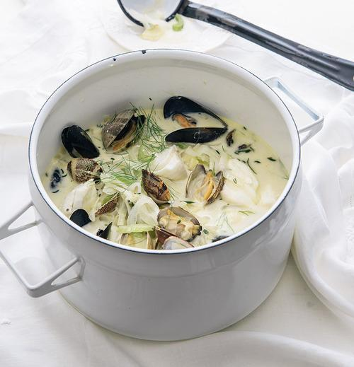 Seafood Stew with Cream and Fennel Recipe from 'Good Food ...