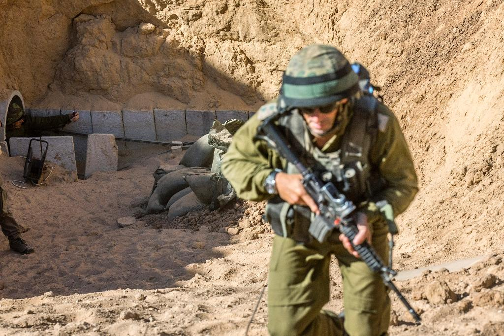 Israel launched 'Operation Protective Edge' in 2014, to destroy tunnels used by Palestinian militants based in the Gaza Strip (AFP Photo/Jack Guez)