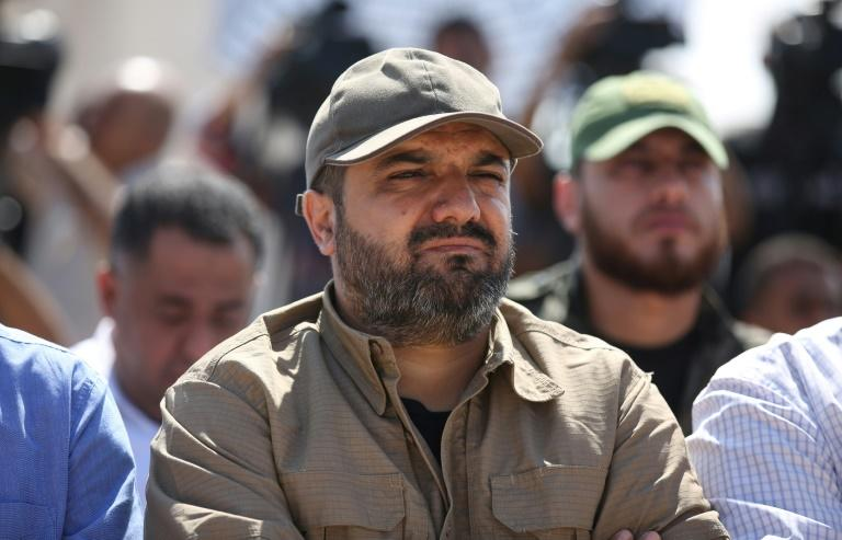 """The Israel army described Islamic Jihad commander Ata Baha Abu Al-Ata as a """"ticking bomb"""", accusing him of orchestrating recent rocket fire and preparing further attacks (AFP Photo/STR)"""