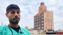 A New York nurse laments his coronavirus patient's last words before intubation: 'Who's going to pay for it?'