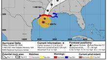 El huracán Delta, de categoría 2, toca tierra en el suroeste de Luisiana