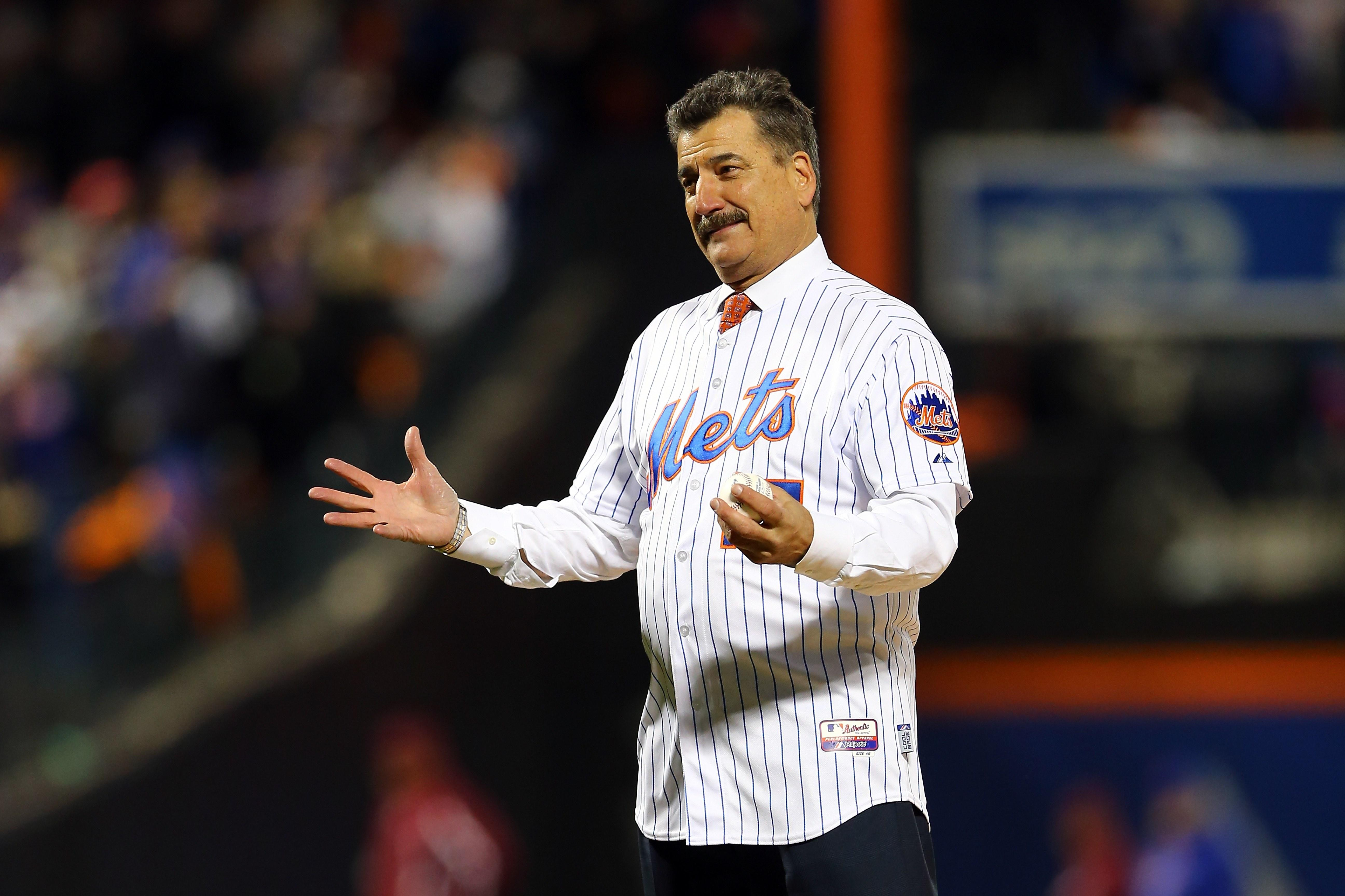 watch cb968 6f168 Mets broadcaster Keith Hernandez laughs at sponsor's, um ...