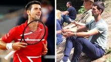 Novak Djokovic visits 'pyramid park' with 'healing power' after French Open loss