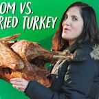 Mom vs. Deep Fried Turkey