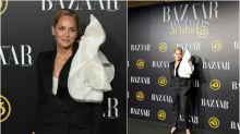 Sharon Stone eclipsa a las famosas españolas en los premios Bazaar Actitud 43