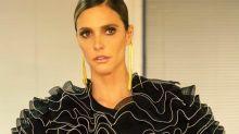 Fernanda Lima radicaliza no visual e raspa uma parte do cabelo
