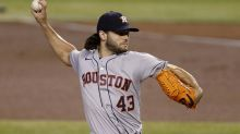 Astros' Lance McCullers was not thrilled about Chase Field roof opening
