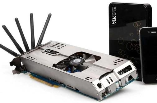 KFA2 NVIDIA GeForce GTX 460 WHDI graphics card is first to go wireless