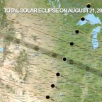 See the Path of the 2017 Total Solar Eclipse As It Moves Across the U.S.