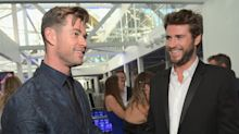 Chris and Liam Hemsworth Work Out Together and Things Get Competitive