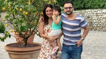 Kareena Kapoor, Saif Ali Khan and Taimur Ali Khan beat the heat with a family vacation in Tuscany