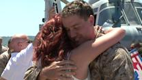 Marines get an emotional welcome home