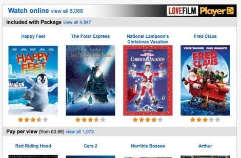 Lovefilm's movie streaming will switch from Flash to Silverlight on PCs in 2012